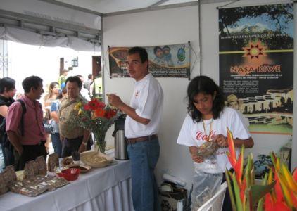 Café Tierradentro en IX Congreso Gastronómico de Popayán