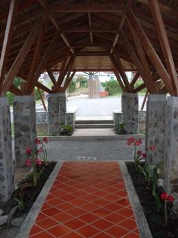 Hotel Albergue El Refugio, entrada