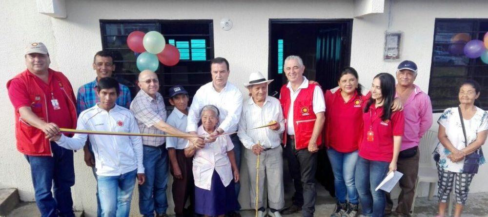 17 NUEVAS VIVIENDAS EN ZONA SEGURA, ENTREGADAS A COMUNIDADES REASENTADAS