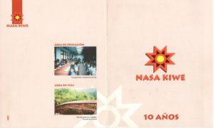 Caratula Nasa Kiwe - 10 Años
