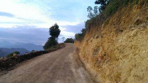 Apertura de la Vía Pastales-Alto del Carmen