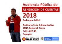 APLAZADA AUDIENCIA PÚBLICA DE RENDICIÓN DE CUENTAS