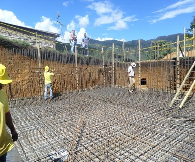 Construcción del sistema de alcantarillado sanitario de la localidad de Yaquivá
