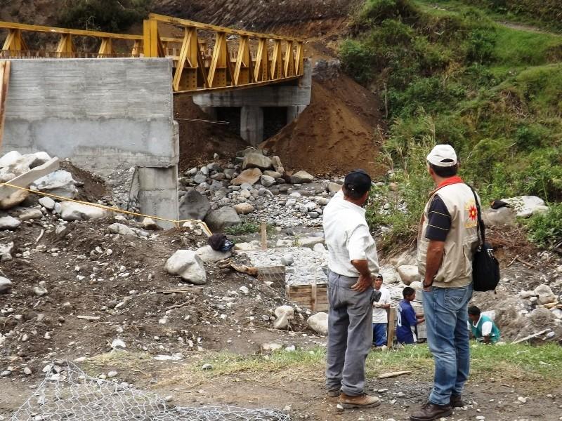 Construcción Puente San Vicente