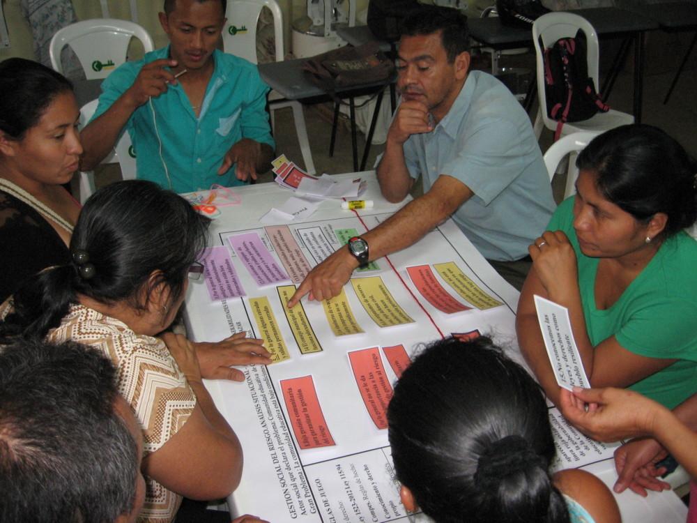 Empoderamos a las comunidades en la gestión del Riesgo