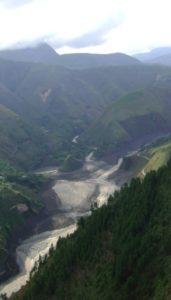 Panorámica de la Cuenca del río Páez