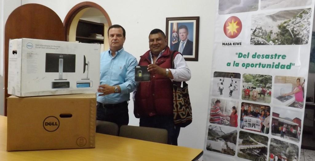 Totoró beneficiado con infraestructura tecnológica para la Gestión del Riesgo de Desastres