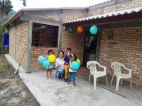 SIETE FAMILIAS DE INZÁ, CAUCA, HABITAN AHORA EN SITIO SEGURO