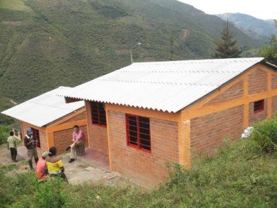 Proyecto de reubicación de vivienda dispensa en Páez