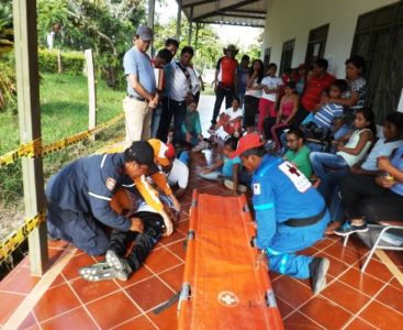 I Campamento para la Gestión del Riesgo en la Cuenca del Río Páez