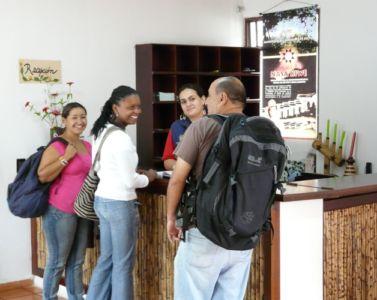 Recepción Hotel El Refugio