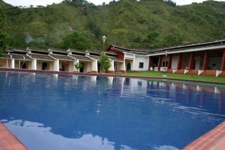 Vista Interior Hotel El Refugio, San Andrés de Pisimbalá