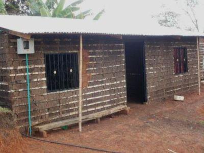 Redes domiciliarias en Potreritos, municipio de La Plata