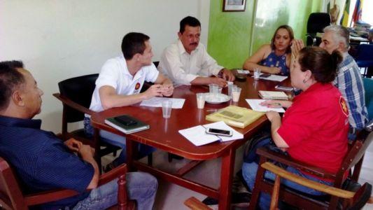 Articulación de la experiencia piloto en gestión del Riesgo con la Alcaldía de Nátaga