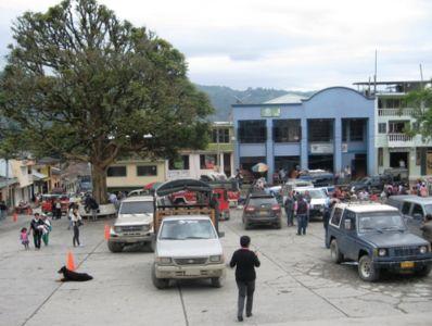 Panorámica cabecera municipal de Inzá