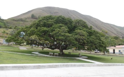 Parque de Puerto Valencia, municipio de Inzá