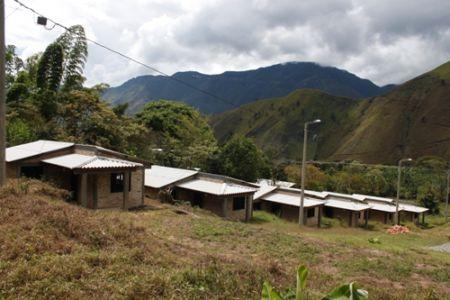 Panorámica proyecto de reubicación de vivienda Resguardo de Tálaga