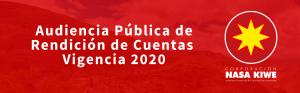 Participa Rendición de cuentas 2020