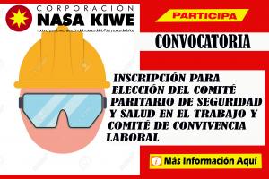Convocatoria COPASST