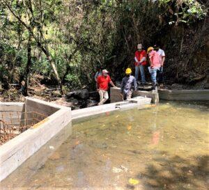 Construcción sistema de acueducto en Guadualejo, Municipio  Páez