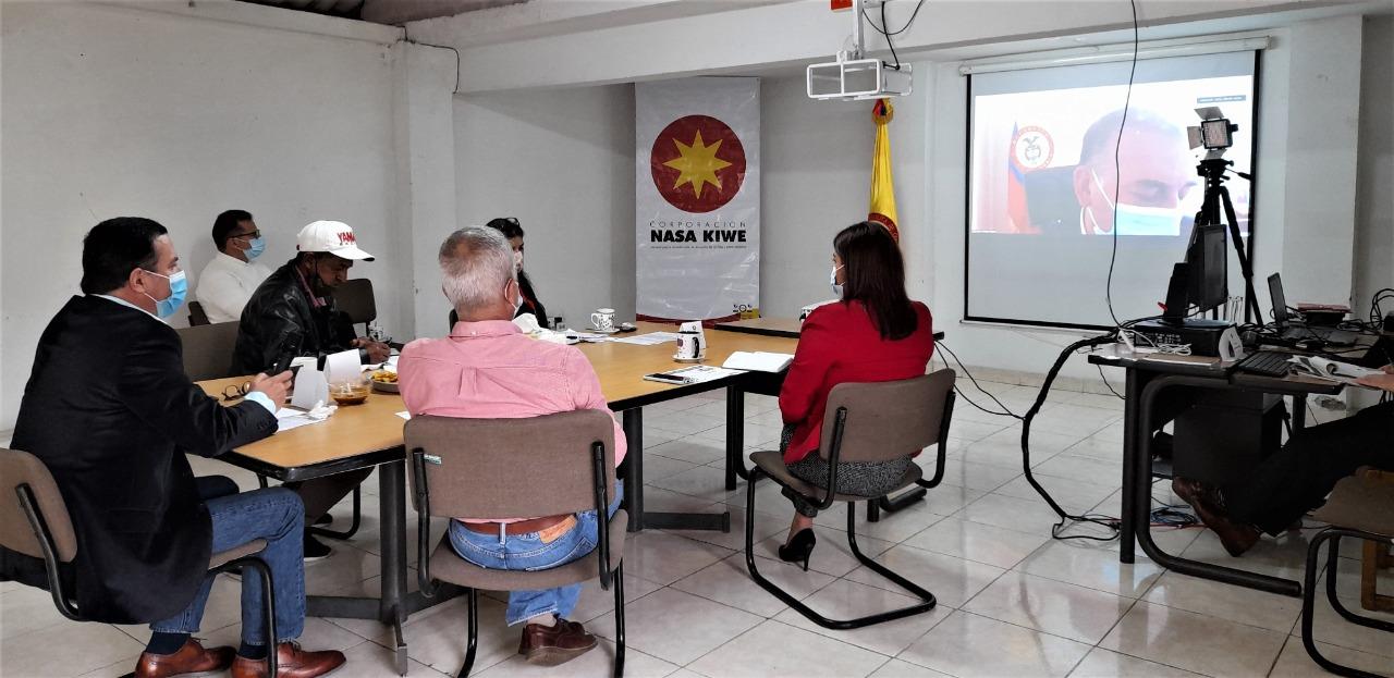 Consejo Directivo de la Corporación Nasa Kiwe aprobó inversión para varios proyectos en Cauca y Huila.