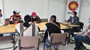 Corporación Nasa Kiwe se trabaja con las organizaciones indígenas y campesinas.