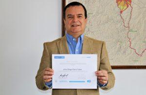 John Diego Parra Tobar - Director General Corporación Nasa Kiwe