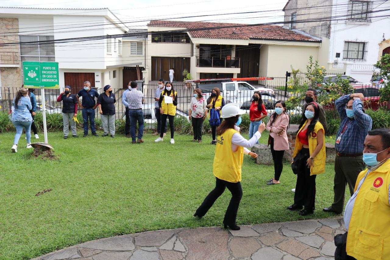 Corporación Nasa Kiwe preparada para dar respuesta a emergencias.
